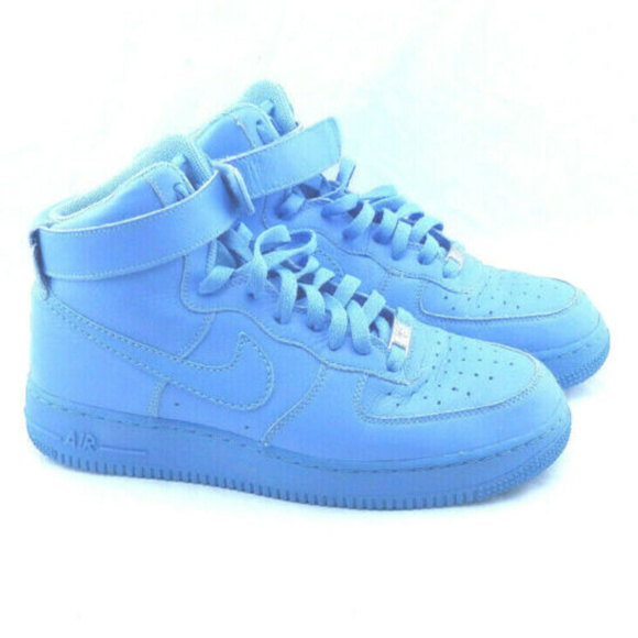 Nike Shoes Air Force 1 High 2008 University Blue Womens Poshmark